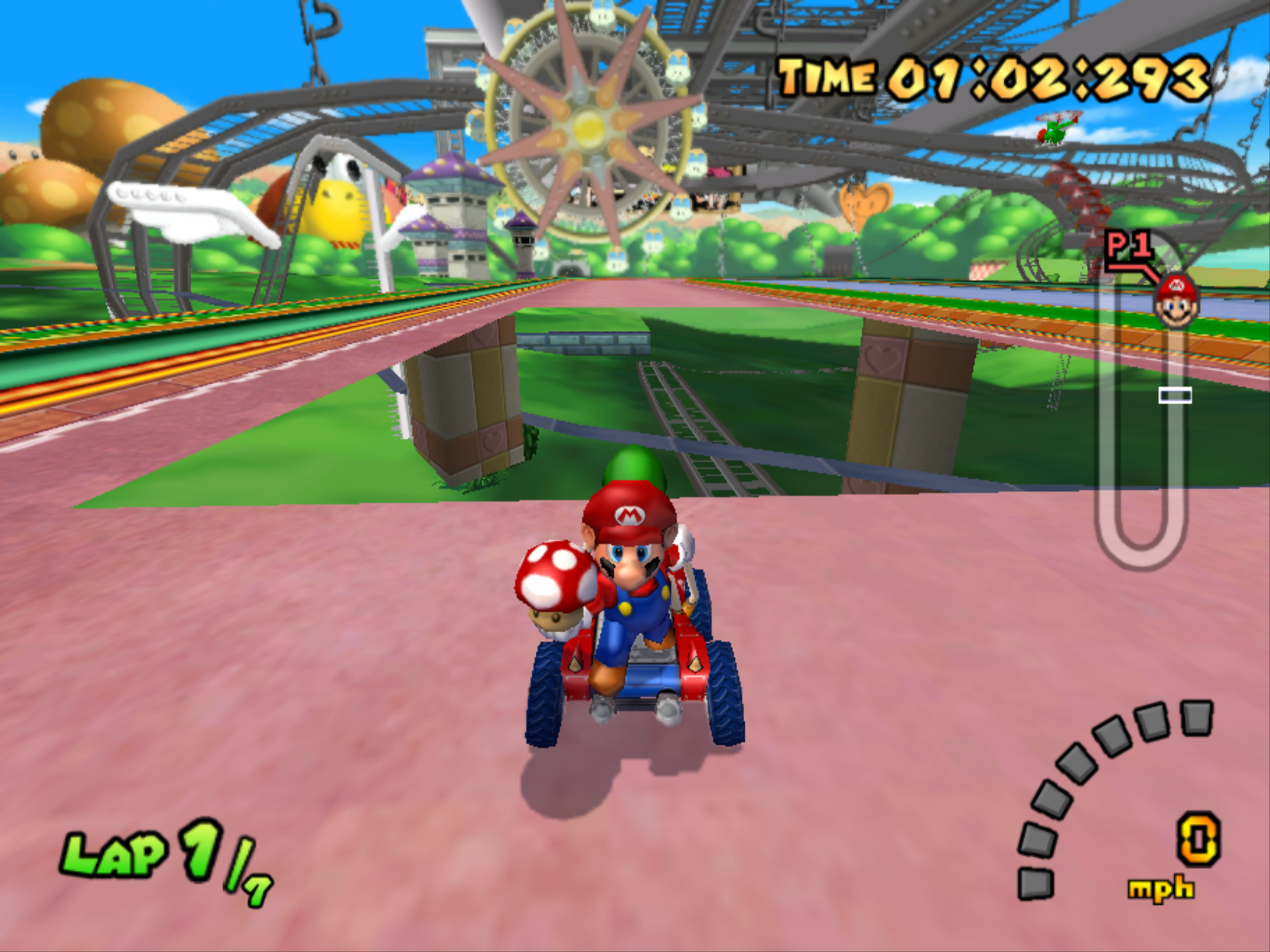 super mario kart emulator mac