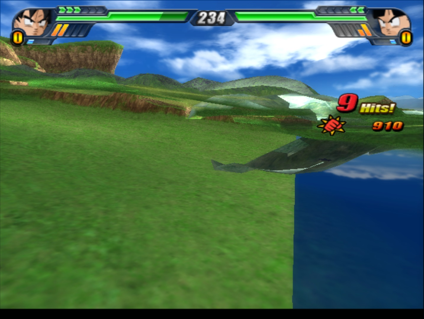 Emulator Issues #9438: D3D graphical bugs in Dragon Ball Z
