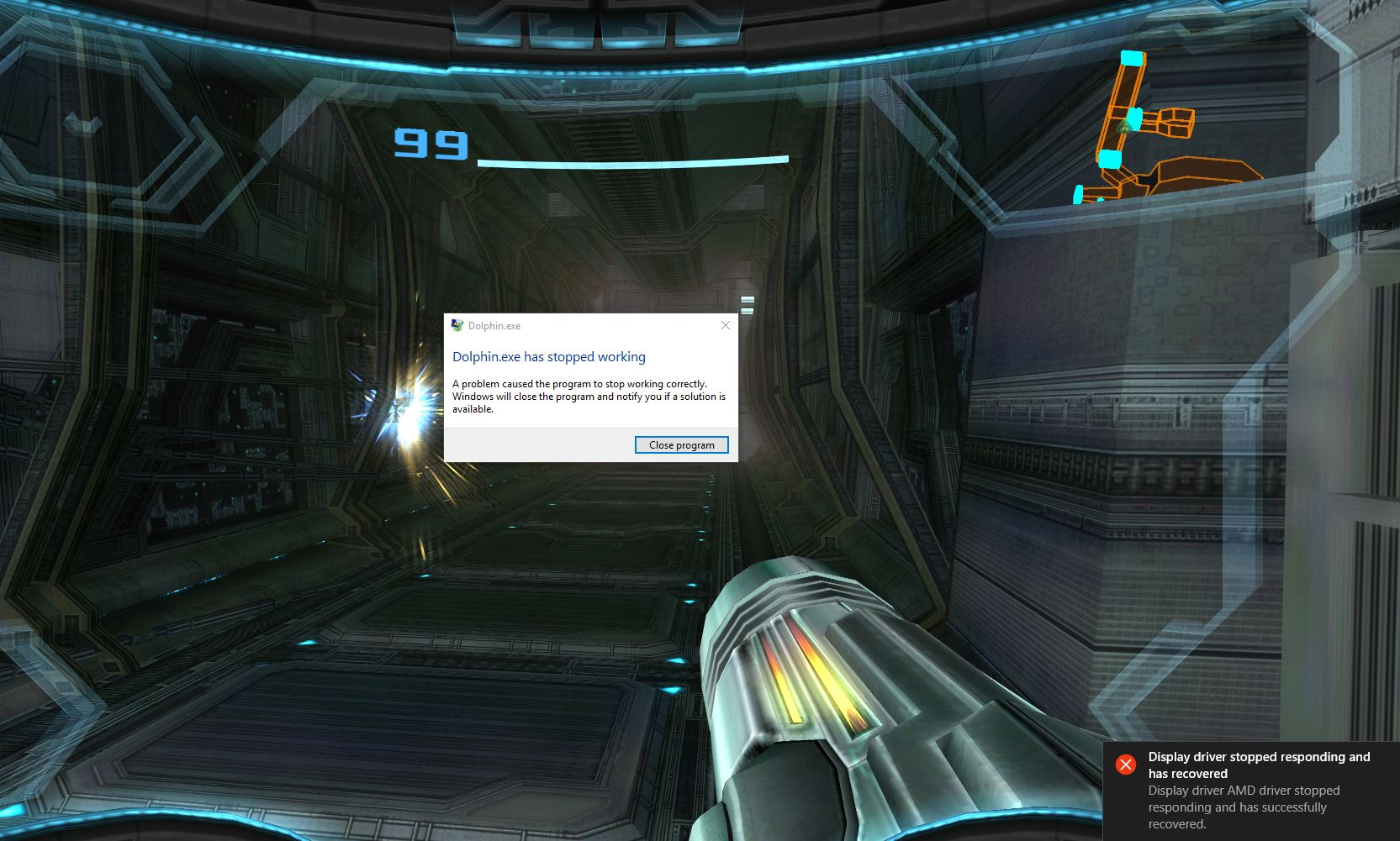 Emulator Issues #9701: Metroid Prime Trilogy (MP3): Direct3D 12