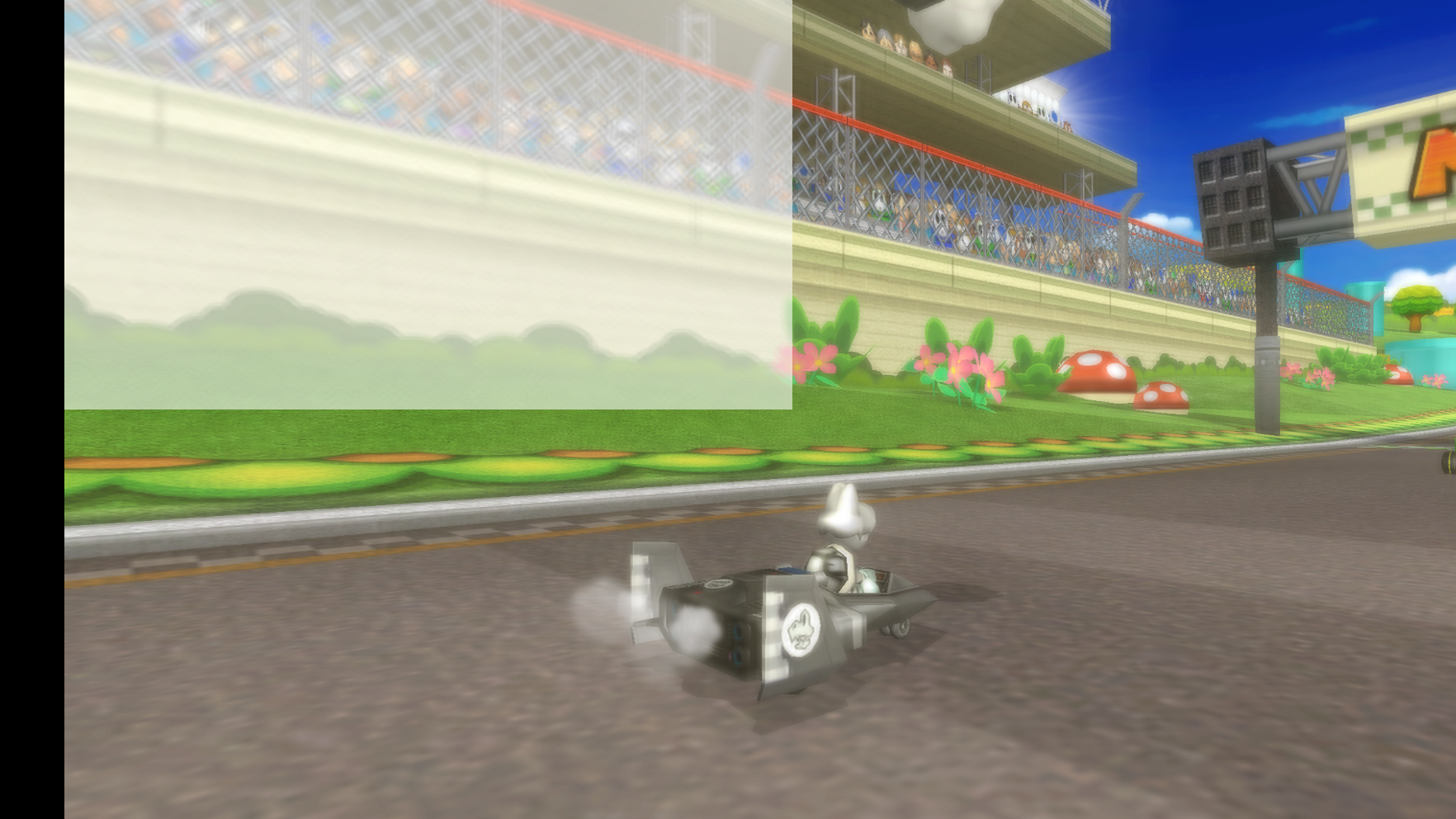 Emulator Issues #9890: Frosted Square Distortion in Mario