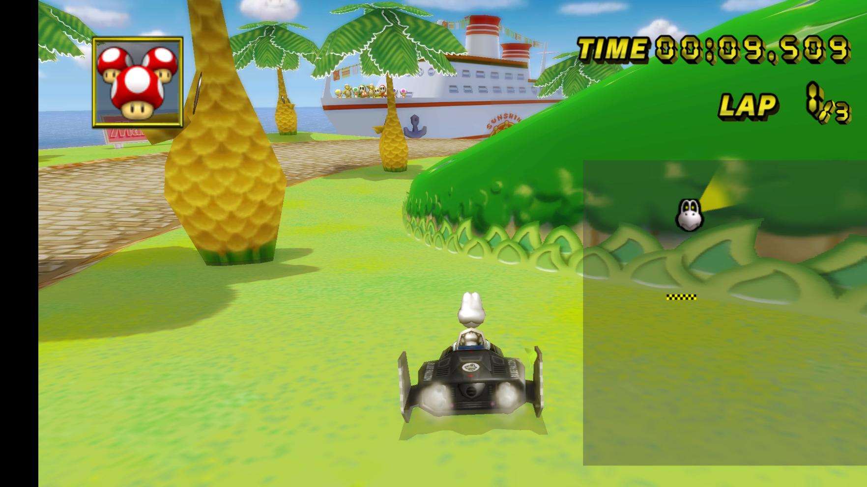 Mario Kart Wii Distorted