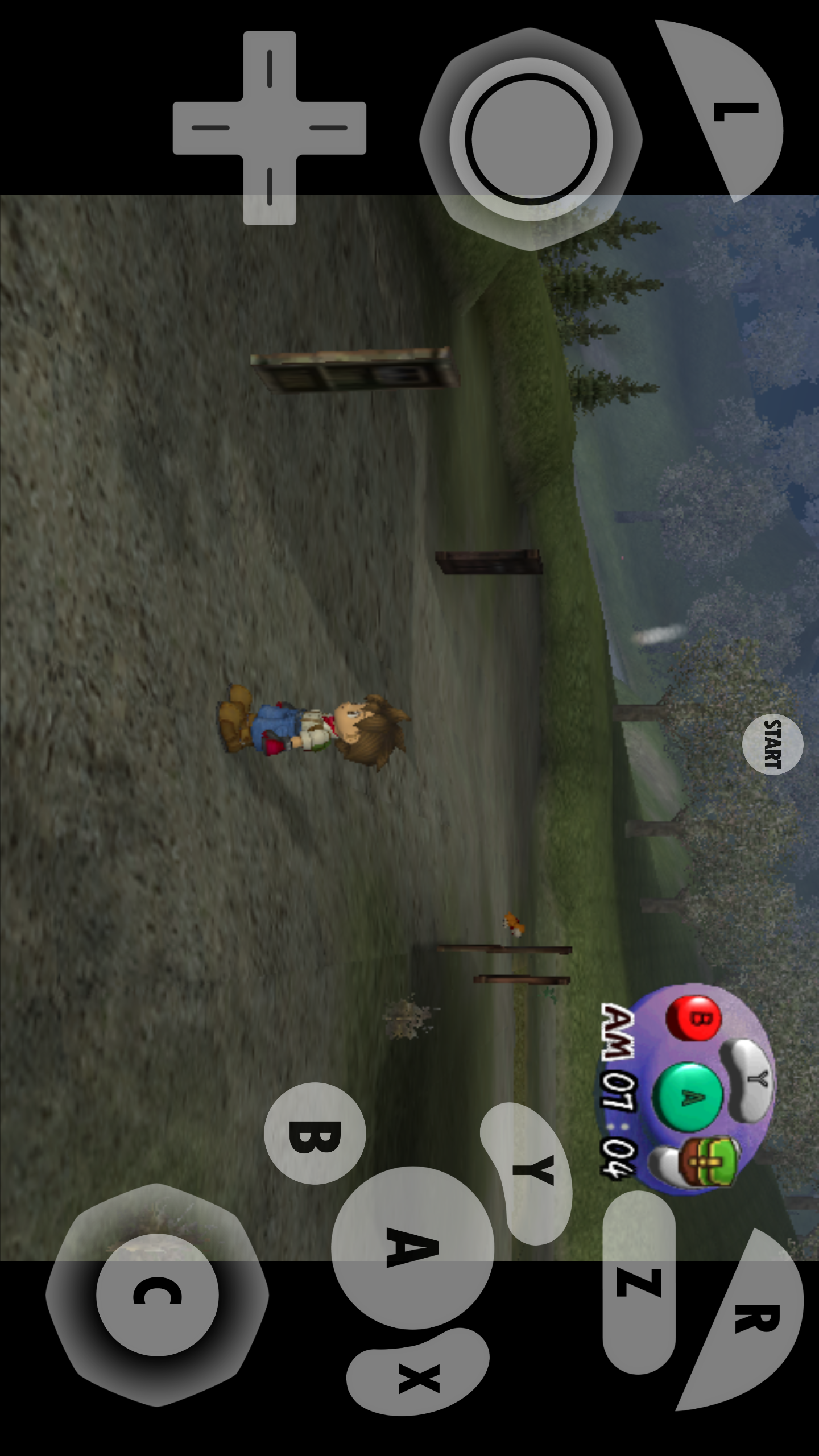 Emulator Issues 9911 Android No Objects In Harvest Moon A