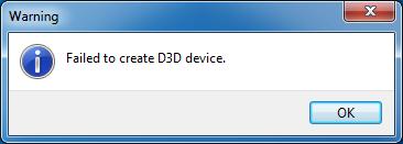 Emulator Issues #10482: Direct3D 11 requires platform update