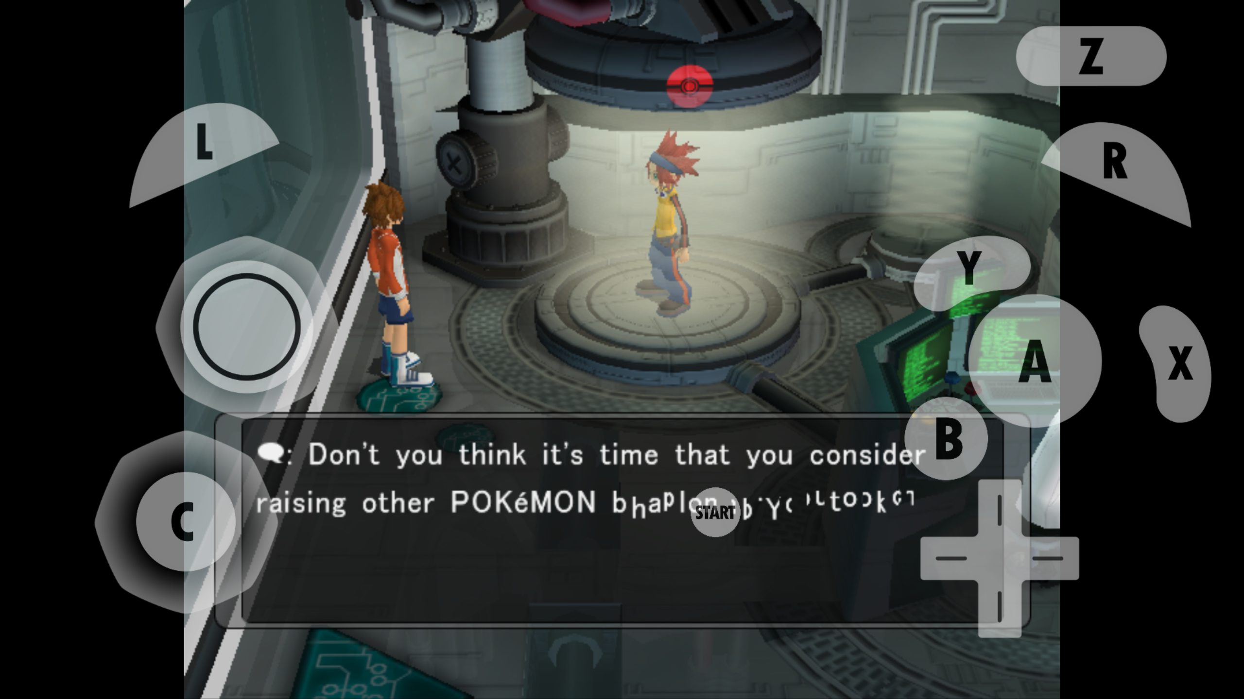 Emulator Issues #10633: Pokemon XD Gale of Darkness text
