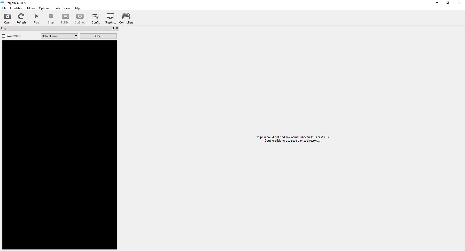 Emulator Issues #11191: QT: Resized Log window reverts to